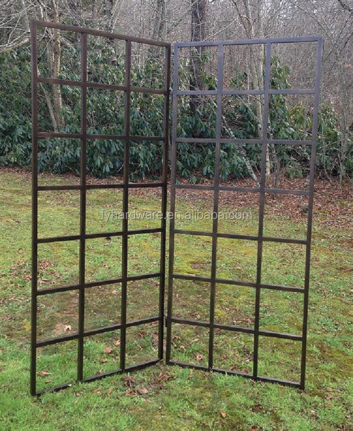 beautiful iron wrought garden trellis on sale