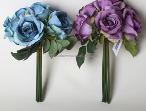 2015 wholesale artificial fabric flowers wholesale handmade flower