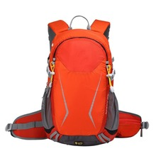 25L Internal Frame Hiking Daypack Trekking Backpack Riding Backpack with Helmet Attachment