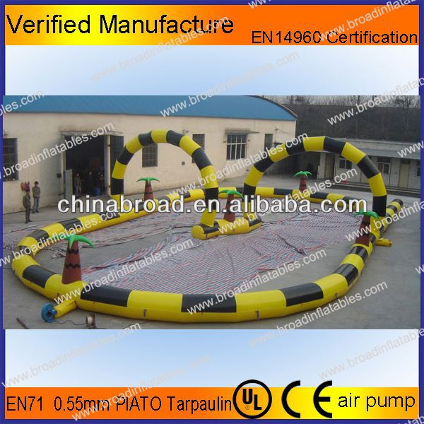 Durable and zorbing track,zorb ball track,zorb ball race