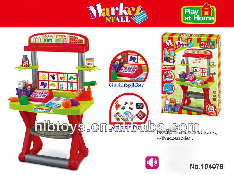 Caja registradora de mesa set w m sica caja registradora - Caja registradora juguete ...