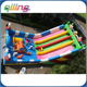 Qing Ling blue cats outdoor inflatable playground