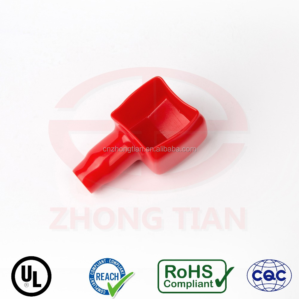 Colorful square plastic auto battery terminal cover