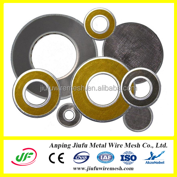 Manufacture Round Shape Sintered Bronze Filter Disc