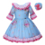 pettigirl kids prom lace cuff blue flower girl dresses clothes for children