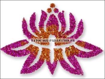Lotus Flower Tattoo Stencil