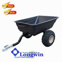 Poly trailer, ATV farm trailer, lawn and garden tractors for sale