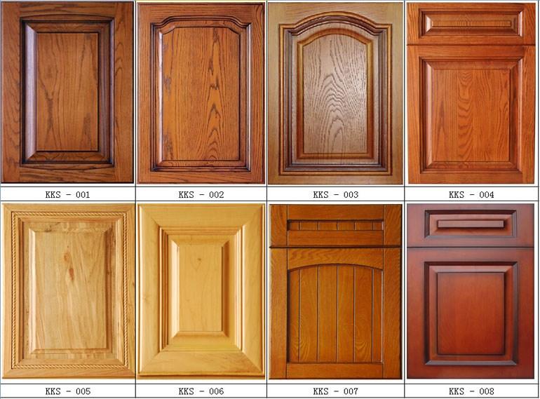 Pvc Mdf Furniture Kitchen Cabinet Door Solid Wood Kitchen