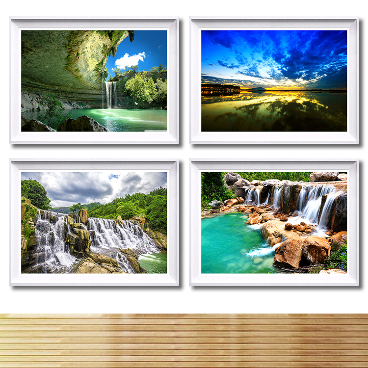 Modern landscape picture wall canvas painting decorative pictures modern home deco print canvas wall art oil painting poster art