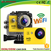 High quality outdoor Waterproof Action Camera Mini car/bike DVR carmera