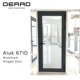 Premium Quality High Insulation Performance Aluminium Hinged Emergency Exit Door Prices