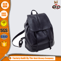 Wholesale durable vintage girl leather backpack