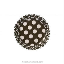 Polka dots recycle paper baking cup cupcake cup