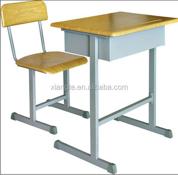 Detached Clroom Furniture Single Table Sets School Desk And Chair Chairs