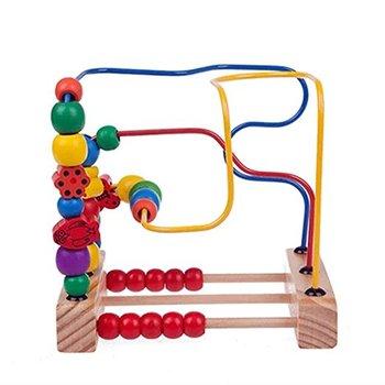 Montessori Juguetes De Madera Juegos De Rompecabezas Abaco Buy