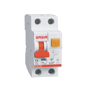 GSL9R overcurrent protection elcb rcbo circuit breaker 1p+n 2p Magnetic type