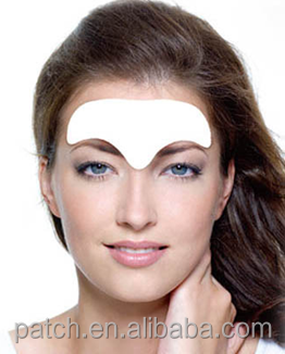 China Supplier Wholesale New Anti Aging Brow Hydro Gel Patch