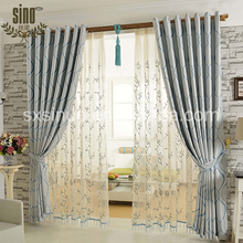 New Product weave pattern Hot selling jacquard window drapery