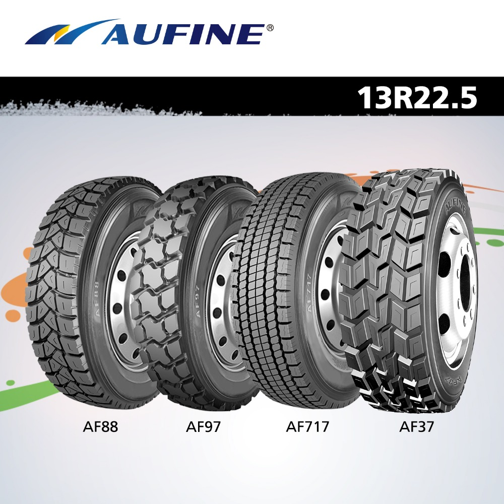 AUFINE EU quality 13R22.5 for West - African market