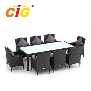 CE Approved Modern concrete tables outdoor furniture