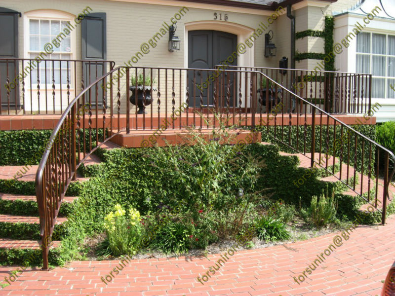 Decorative Wrought Iron Railings For Outdoor Steps - Buy ...