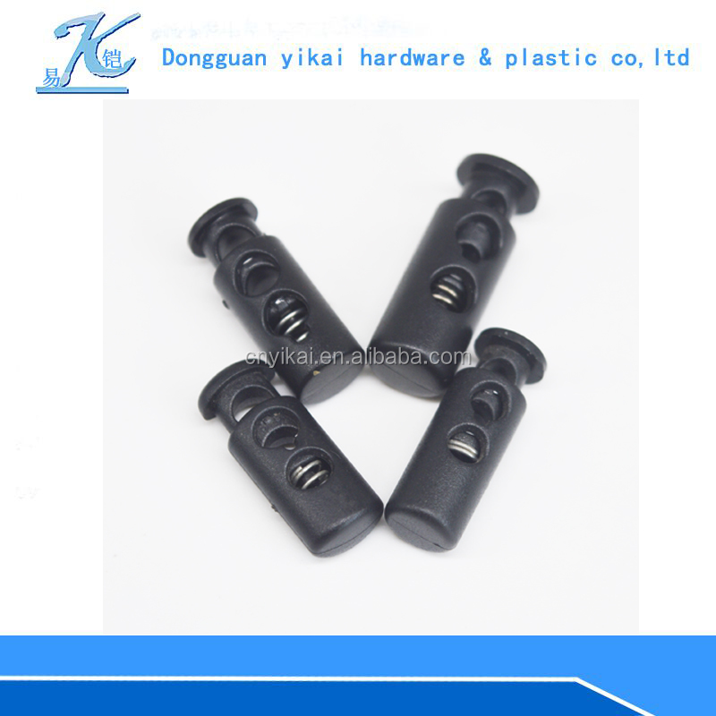 Yikai Coat accessories plastic cord stopper lock plastic blind toggle