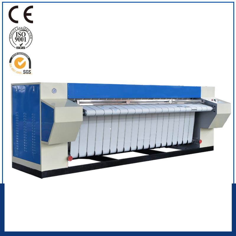 Gas Steam Electric Heated Bed Sheet Flatwork Ironer Machine