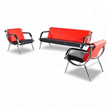 Metal steel 3-seater cheap Public waiting chair / Airport waiting chairs Public Furniture Chairs