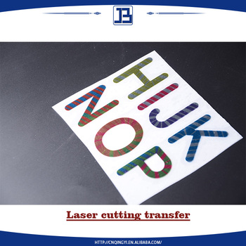 Hot sale laser t shirt heat transfer sticker for clothing for Heat transfer stickers for t shirts