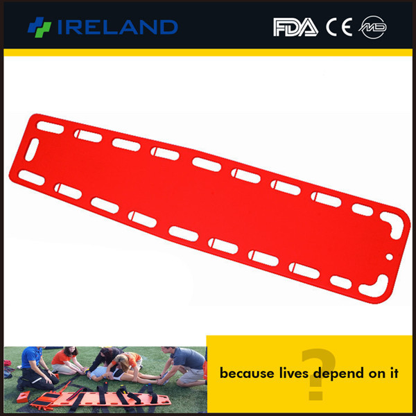 AEN-PE CE Approved Emergency PE Plstic Transfer hospital spine board