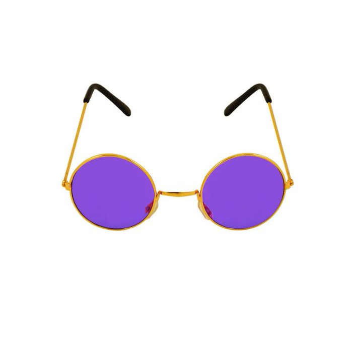 Unisex Hot Funny Ladies Mens Fancy Dress Party Flashing Purple Sunglasses New CE227