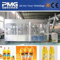 4-in-1 Piston type plastic bottle juice pulp filling machine