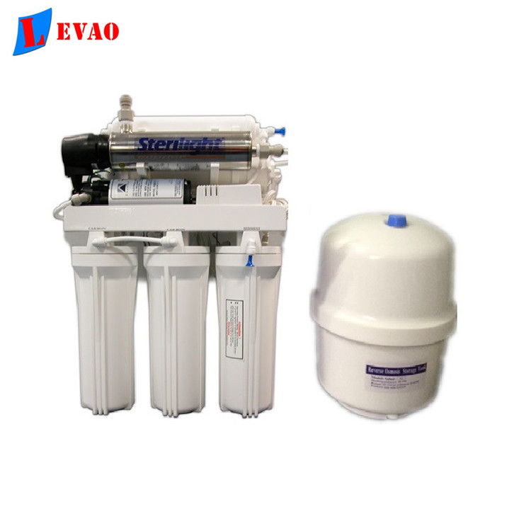 6 stage household RO water filter system undersink bio energy clean water filter