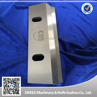 D2 H13 SKD-11 PLASTIC CRUSHER KNIFE/SHATTER KNIFE BLADE with high wear resistance
