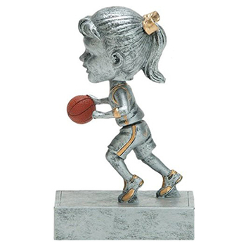 Custom Resin Basketball Trophy For Decortioan