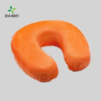 China supplier Memory Foam U-shaped pillow sleeping Neck Pillow Wholesale for traveling