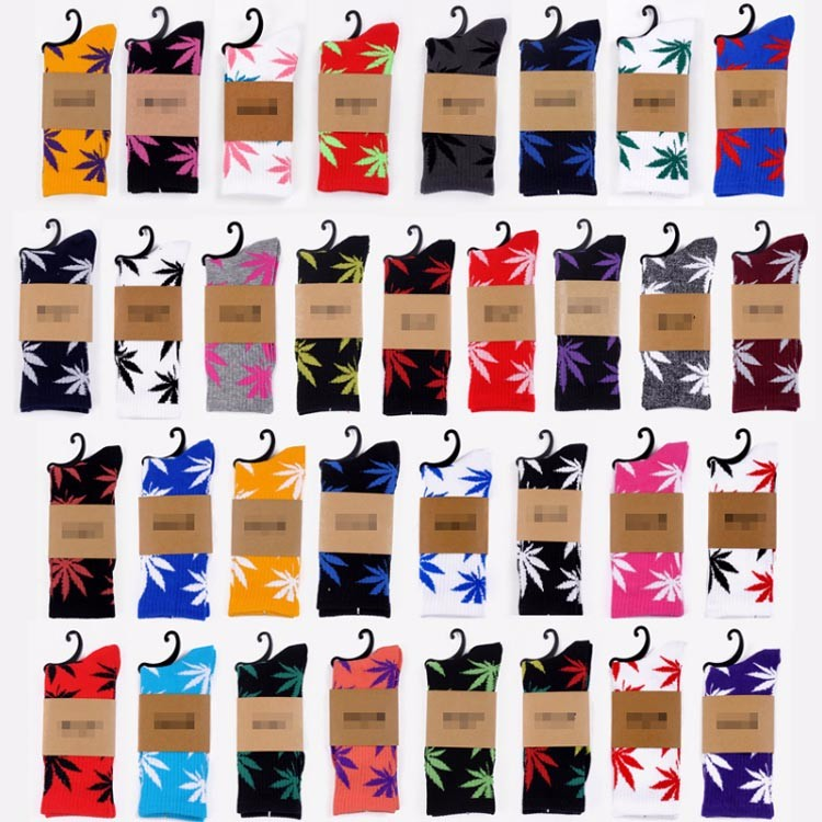 in stock no minimum amazon ebay supplier best selling cotton weed socks