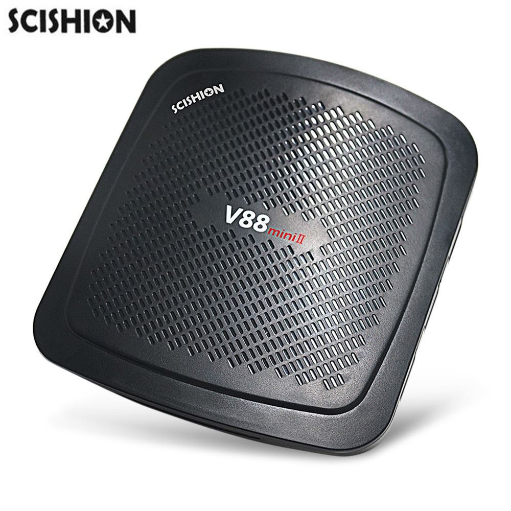 SCISHION V88 mini II TV <strong>Box</strong> RK3229 4 Core Android 6.0 2GB + 8GB <strong>Set</strong> <strong>Top</strong> Boxes 4K H.265 Smart <strong>Media</strong> Player