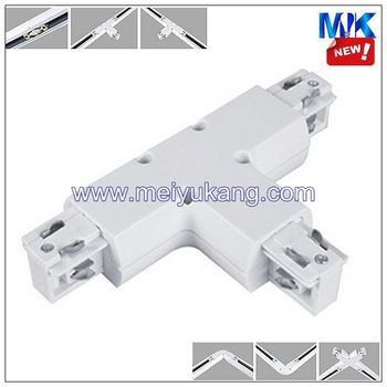 track lighting rail. led track lighting bar rail joint accessories double joints right angle