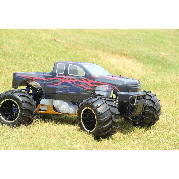 HSP model car 1/5 scale gas 41 rc monster truck with 30cc engine