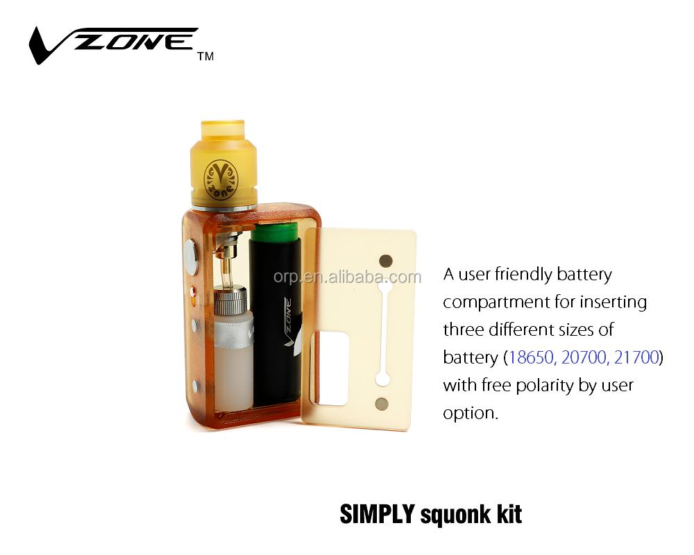 2018 Hot Selling Vzone Simply Squonk Starter Kit Amazon Electronic  Cigarette Starter Kit - Buy 2018 Hot Selling Vzone Simply Squonk,Vzone  Simply