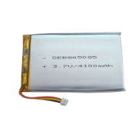 lp 805085 High capacity rechargeable 855085 3.7V 4100mah lithium polymer battery