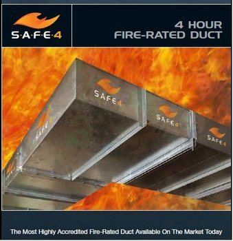 Safe 4 Fire Rated Duct Buy Fire Rated Ducts Product On