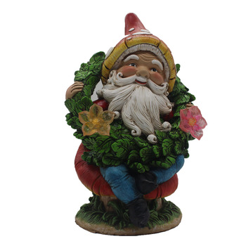 Handmade Miniature Fairy Garden Statue Elf