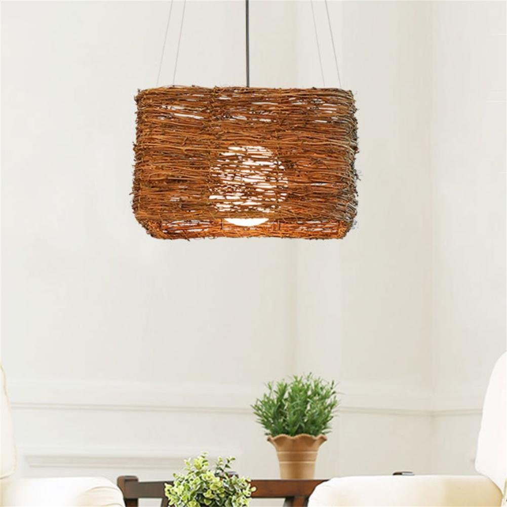 GAO LGDT Southeast Asia chandeliers, rattan chandeliers, rattan Zen chandeliers 35CM 108CM