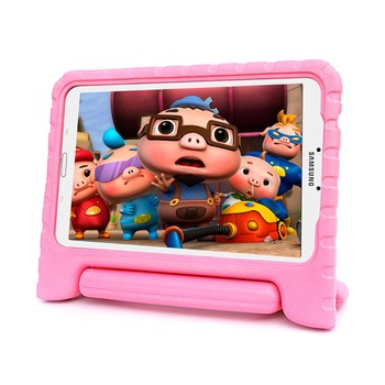 Kids safe convertible Handle stand shockproof case for samsung galaxy tab e tablet case 9.6 inch