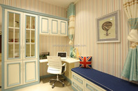 kids bedroom furniture sets two glass doors bookcase and book cabinets