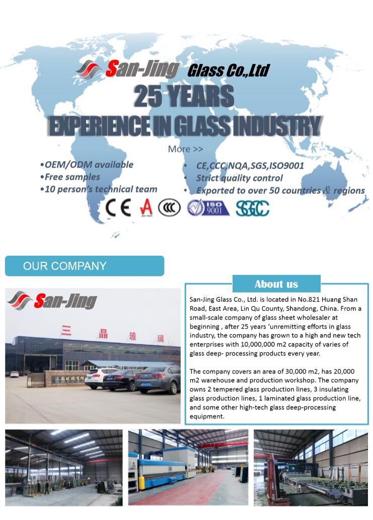 Prezzo di fabbrica 10 millimetri 12 millimetri di costruzione della parete divisoria in vetro temperato prezzo fornitore Della Cina