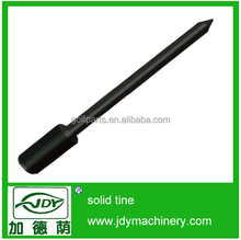 China brush cutter spare parts, power tool, 40Cr solid tines for trimmer parts