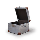 Sheet Material Reproduction Portable Antique Trunk On Sale